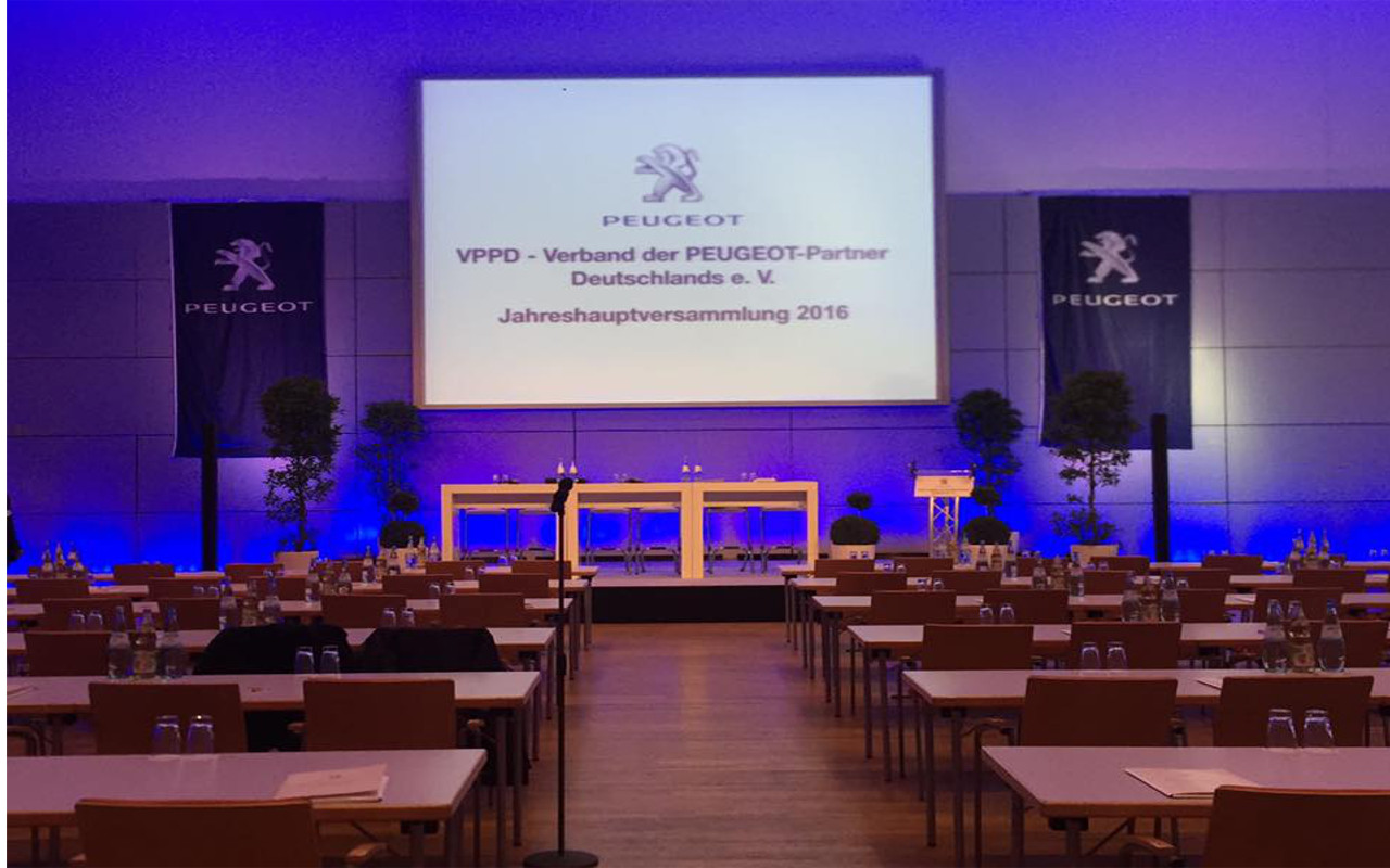 Jahreshauptervsammlung des Verbandes der PEUGEOT-Partner Deutschland e.V.