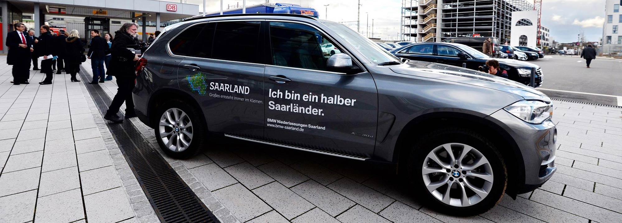 BMW Saarland Marketing